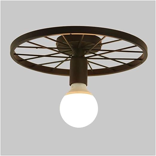 William 337 Luz de techo Estilo industrial Ruedas Lámparas de ...