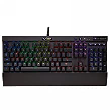 Corsair Vengeance K70 RGB Multi Color Backlit Mechanical Gaming Keyboard - Cherry MX Red