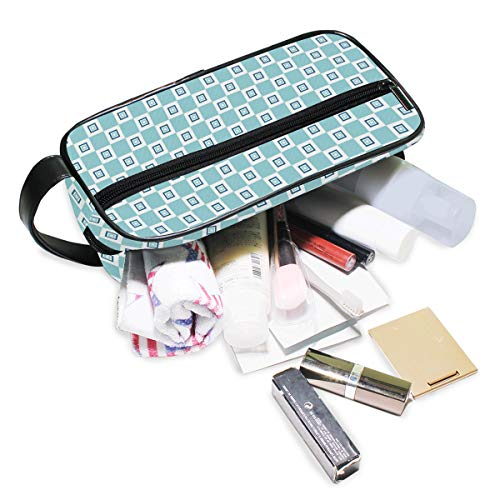 Jacksome Geometric Packing OrganizerStorage Bag Travel Lingerie Pouch Toiletry Organizer Handbag Cosmetic Makeup Bag Luggage Storage Case For Cosmetics Toiletries Hotel Home Bathroom Airplane