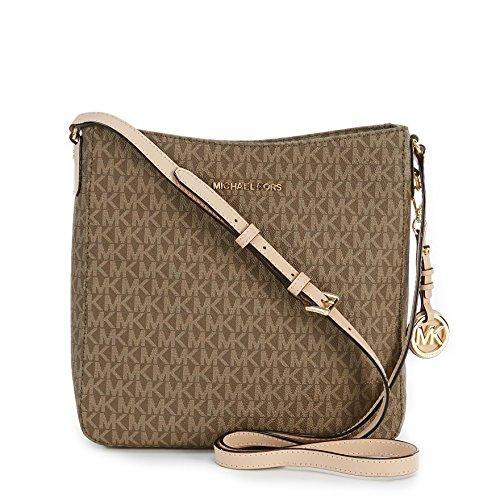 Michael Kors Jet Set Travel Large Messenger Messenger Bags - Mocha - - Online Kors Shop Bags Michael