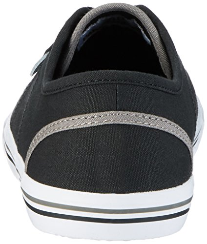 Pantofola dOro Herren Arda Canvas Uomo Low Sneaker Schwarz (Black)