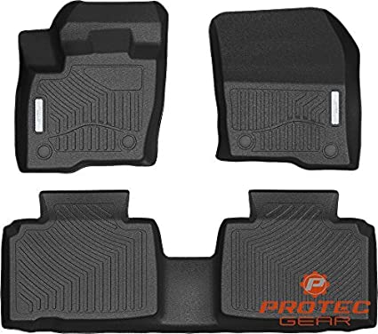 D Complete Set Custom Fit All Weather Floor Liners Floor Mats For Select