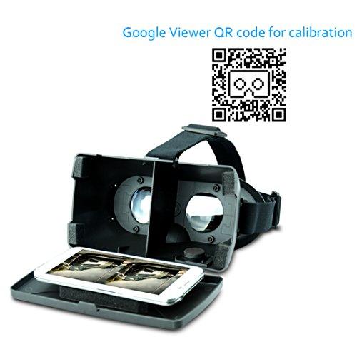 Amazon com: SUNNYPEAK® Google Cardboard Plastic Version 3D