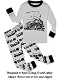 Boys Pajamas Train Little Kids Pjs Sets 100% Cotton Toddler Clothes Sleepwears Size 4T