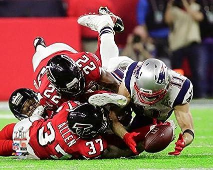 c22166784 New England Patriots Julian Edelman Makes The Catch Of A Lifetime During Super  Bowl LI Trophy