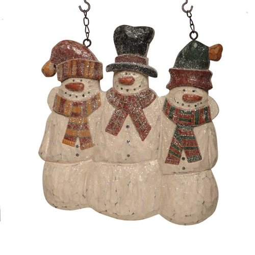 Snowman Buddies Snowmen Wooden Arrow Replacement Indoor/outdoor Sign NIP ()