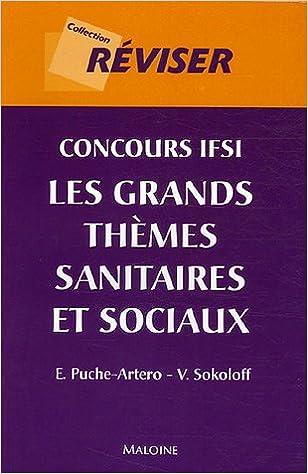 Lire un Concours IFSI : Les grands thèmes sanitaires et sociaux epub pdf
