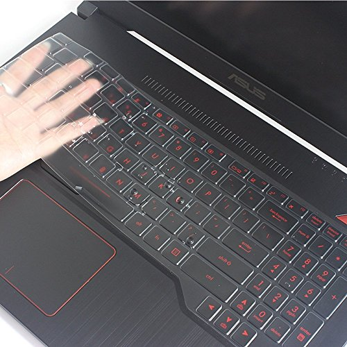 Leze - Ultra Thin Soft Keyboard Protector Skin Cover for ASUS FX503VD,ROG STRIX GL503VD GL703VD Gaming Laptop US Layout - TPU (For Cover Laptop Keyboard Asus)