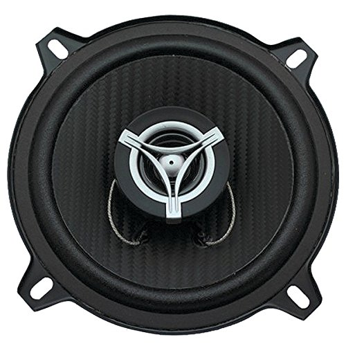 - Power Acoustik EF-52 2 Way Coaxial Speaker 300W Carbon Fiber PP Cone