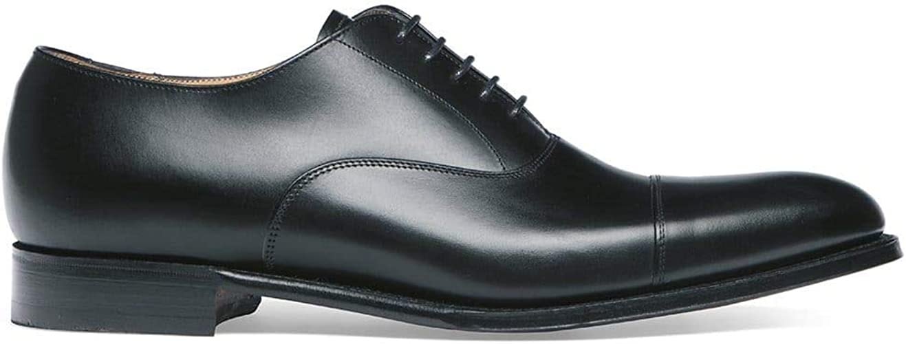 Cheaney Lime Classic Oxford in Black