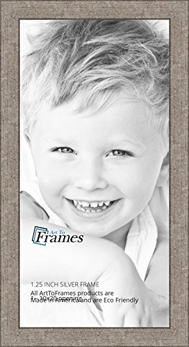 ArtToFrames 4x6 inch Black Picture Frame, WOMFRBW72079-4x6