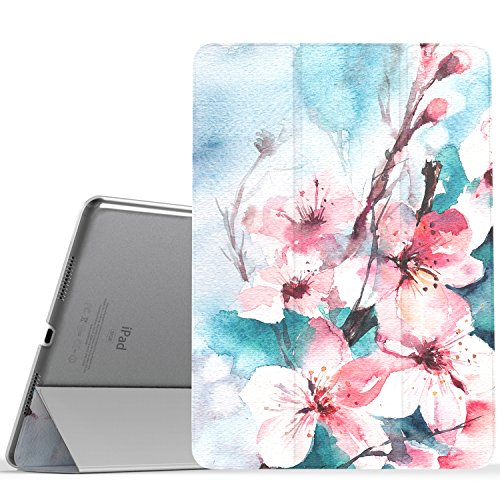 MoKo Case for iPad Pro 9.7 - Slim Lightweight Smart Shell Stand Cover with Translucent Frosted Back Protector for Apple iPad Pro 9.7
