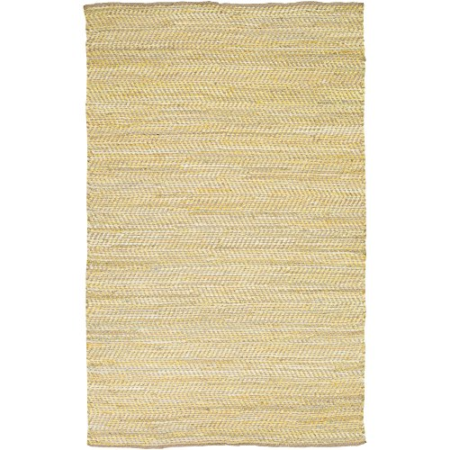 3656 Natural - Surya FAN3007-3656 Hand Loomed Casual Accent Rug, 3-Feet 6-Inch by 5-Feet 6-Inch