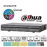Penta-brid XVR5108H-4KL 8 + 4 CH 4K Mini 1U Digital Video Recorder Support HDCVI/AHD/TVI/CVBS/IP video inputs 5-In-1 DVR NVR XVR
