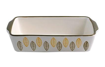 Rectangular de cerámica para horno sartenes de cocina utensilios de cocina para cupcakes hojas