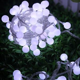 KK-LIGHT 80pcs 10M Special LED Solar Lights Garland String Lights ...