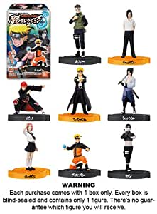 "Naruto Shippuden Shinobi Collection ""Spiral"" Mini-Figure Candy Toy (1 ~2.5"" figure in randomly selected blind box) (Japanese Imported)"
