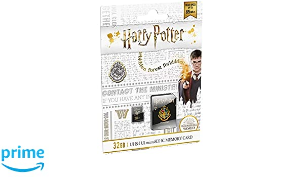 EMTEC Harry Potter Hogwarts - Tarjeta MicroSD (32 GB, SDHC ...