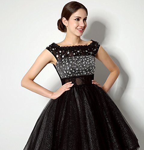 Love Dress Beading Black Short Prom Dress Party Gown Us 16 by Love To Dress (Image #2)