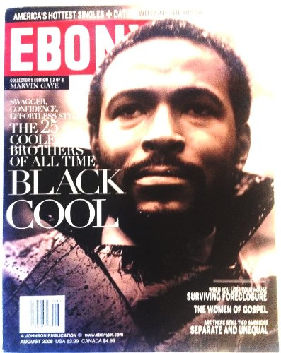 Ebony Magazine ~ August 2009 ~ Marvin Gaye* Collector's Edition* Single Issue