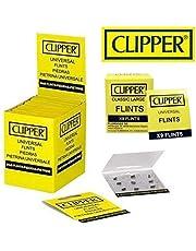 Clipper Vuurstenen voor aanstekers, 18 stuks, geschikt voor alle soorten aanstekers, inclusief stormaanstekers