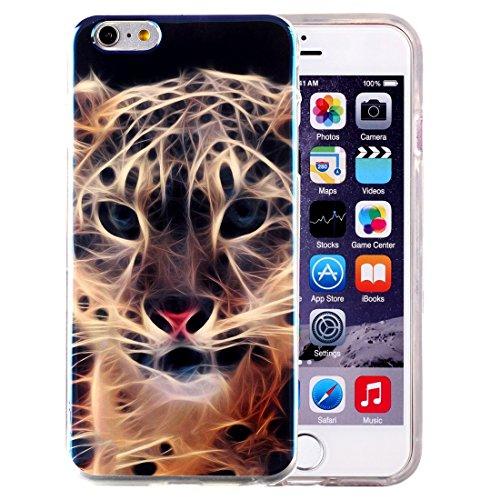 Phone Taschen & Schalen Für iPhone 6 Plus & 6s Plus IMD Bunte Blumen Muster Blu-ray Soft TPU Schutzhülle ( SKU : IP6P5000H )