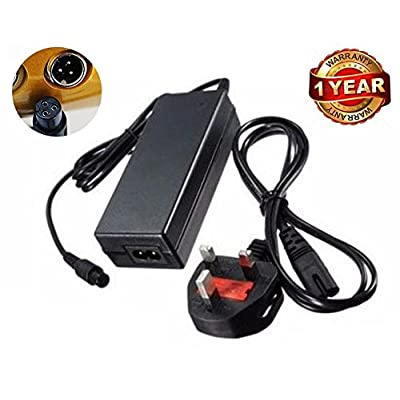 42 V 2 A UK Plug AC Adapter chargeur pour Hoverboard 2 roues Scooter électrique auto-équilibrage Monocycle Drifting Board