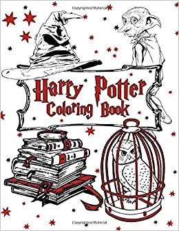 Harry Potter Coloring Book Overlay John 9781698271682 Amazon Com Books