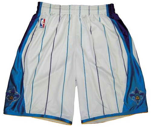New Orleans Hornets 2010-11 Team Issued Home Game Shorts - Size -