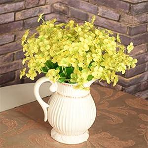 1Pc 18 Head Artificial Mini Primrose Flowers Simulation Bouquet Fake Flower Arrangements for Home Wedding Decoration 2