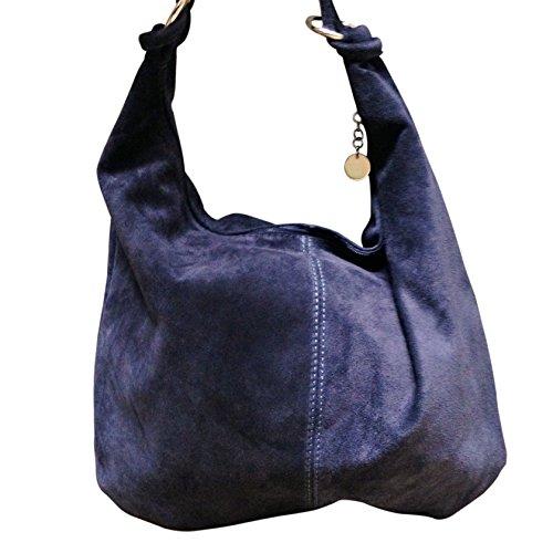 Ju&Zo, Borsa a spalla donna blu Marine Taille Unique
