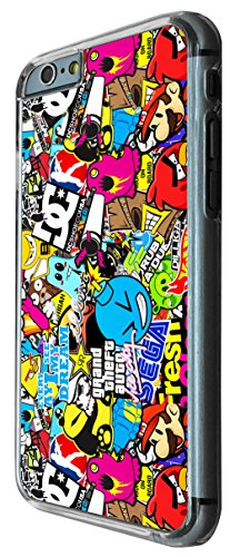 StickerBomb Sticker Bomb Cars Cool Funky Iphone 6 Design Fashion Trend Hülle Case Back Cover Metall und Kunststoff