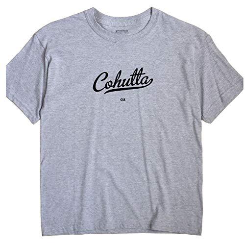 GreatCitees Cohutta Georgia GA Metro Unisex Souvenir T Shirt (Ga Cohutta)