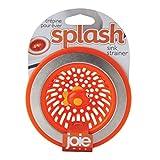Joie Splash Kitchen Sink Strainer Basket, Stainless Steel and BPA-Free Plastic, Fish, 4.5-inch