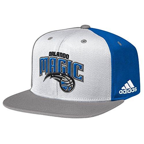 NBA Orlando Magic Men's Team Nation Snapback Cap, White, One Size