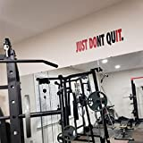 Jeyfel Decals. Fitness Wall Decals. Just Don't