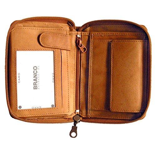f11e8d0f370ae Große Geldbörse   Portemonnaie Größe L aus Leder für Damen und ...