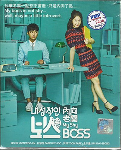 MY SHY BOSS - COMPLETE KOREAN TV SERIES ( 1-16 EPISODES ) DVD BOX SETS (My Shy Boss Korean Drama Ep 1)