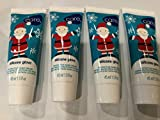 AVON CARE SILICONE GLOVE HOLIDAY MINI HAND CREAMS WITH SANTA DESIGN, LOT OF 4, 1.5 oz Each