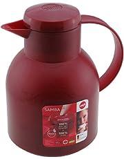 Emsa 509821 Isolierkanne, 1 Liter, Quick Press Verschluss, 100% Dicht