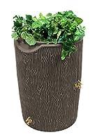 Good Ideas IMP-C50-OAK Impressions Bark Rain Saver, 50-Gallon, Oak