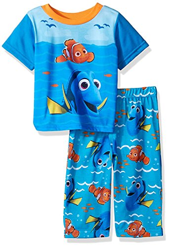 (Disney Pixar Finding Dory Blue Toddler Pajamas for Little Boys)