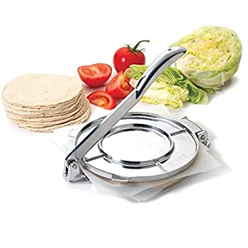 Norpro 1068 Traditional Tortilla Press In Aluminum For 8-inch Corn Tortillas New By Blossom Store 3