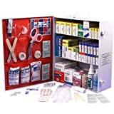 Rapid Care First Aid 80094 3 Shelf OSHA/ANSI First Aid Cabinet