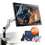 """Parblo Coast22 21.5"""" Inch IPS HD Digital Graphic Tablet Drawing Monitor and Foldable Desk Mount Stand & Mini Display Port Cable and Cleaning Kit"""
