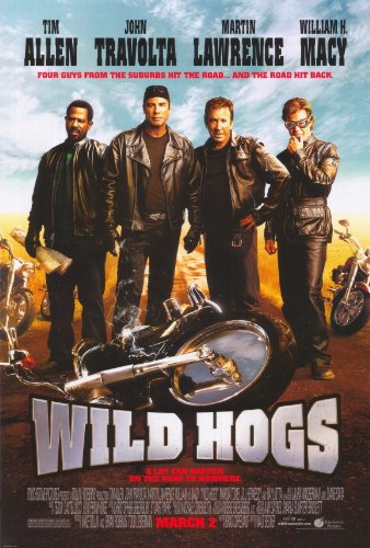 Wild Hogs Poster Movie John Travolta Tim Allen Martin Lawrence
