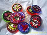 Set of 8 Assorted Style and Type Pog / Milkcap / Game Slammers