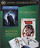 The Dark Knight Blu-ray/DVD with Wonder Woman Coloring Book