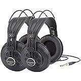 Samson SR850 Studio Headphones, 2-Pack