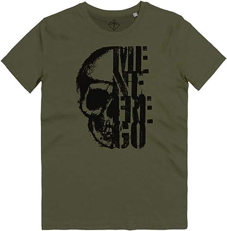 T-Shirt me ne frego reparti d`assalto teschio arditi avanguardia arditismo black skull t-shirt WT18-MNF-SW